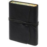 Roma Lussa Softbound Leather Journal Black
