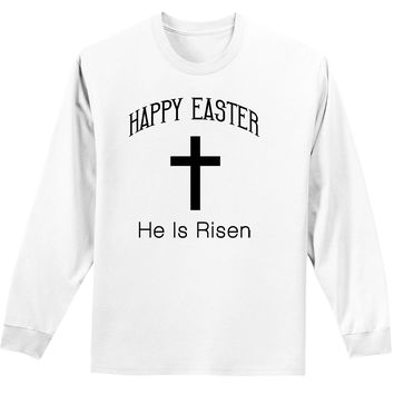 Easter Adult Long Sleeve Shirt - Many Fun Designs to Choose From!