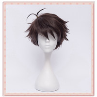 Haikyuu!!Oikawa Tooru Short Deep Brown Cosplay Wig