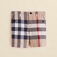 Burberry Infant Boys' Mini Scout Allover Check Shorts - Sizes 3-18 Months