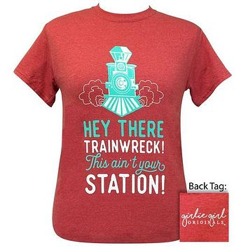 Girlie Girl Originals Preppy Hey Trainwreck T-Shirt
