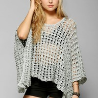 Staring At Stars Open-Knit Oversized Sweater - Urban Outfitters