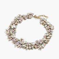 IRIDESCENT CRYSTAL CLUSTER NECKLACE