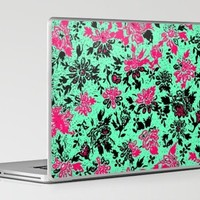 Vintage Wallpaper Laptop & iPad Skin by Romi Vega | Society6