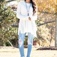 Don't You Remember Sweater in Ivory | Monday Dress Boutique
