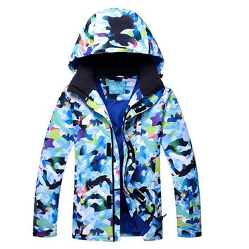 Below Thirty Degrees Snow and Snowboarding jacket Men Thermal Winter Heavy Skiing Coats Male Waterproof Windproof Ski Clothing