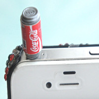 coke soda can phone plug