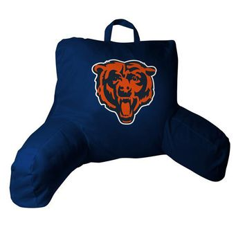 """Chicago Bears NFL 20.5""""x 21"""" Bed Rest Pillow"""