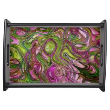 Swirls Serving Tray