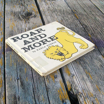 Vintage Book Roar and More by Karla Kuskin 1956