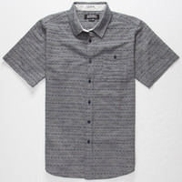 Ezekiel Maker Mens Shirt Indigo  In Sizes
