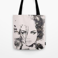 Posy Tote Bag by Allison Reich