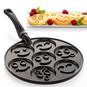 Nordicware Pancake Pan, Smiley Faces - Bakeware - Kitchen - Macy's