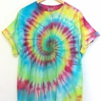 ONE OF A KIND Tie Dye Unisex Tee #6 Size X-Large