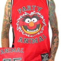 ROCKWORLDEAST - Muppets, Basketball Jersey, Party Animal