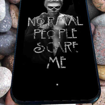 TATEVAN (Tate Langdon Evan Peters) American Horror Story for iPhone 4/4s, iPhone 5/5S/5C/6, Samsung S3/S4/S5 Unique Case *76*