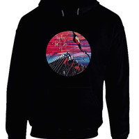 Pink Floyd The Wall Rounded Illustration Hammer Play Hoodie