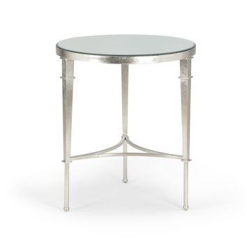 Round Regent Table-Silver