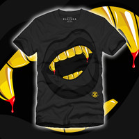 Gold Fangs Shirt *Ships 9/10