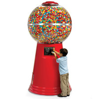 The 14,450 Gumball Machine - Hammacher Schlemmer