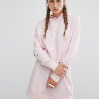 Hoxton Haus Baby Pink Sweater Dress at asos.com