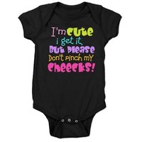I'm Cute, I get It Baby Bodysuit> I'm Cute, I get It> Admin_CP62117368