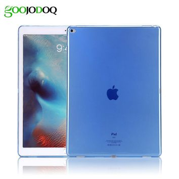 Soft Case for iPad Air 1,Silicone Cover for Apple iPad Air / 5 / Mini 1 2 3 Transparent Soft TPU Back Case Slim Clear Shell Skin
