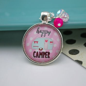 WEEKLY DEAL! The Happy Camper Necklace - PINK