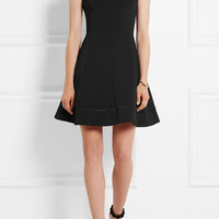 Victoria Beckham - Ajoure stretch-cady mini dress