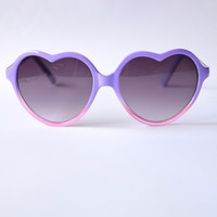 Heart U Sunglasses - Lavender