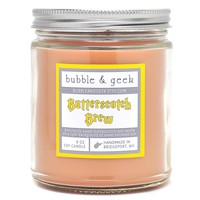 BUTTERSCOTCH BREW SCENTED SOY CANDLE JAR