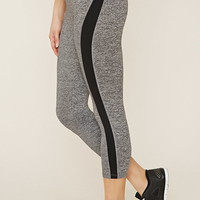 Active Heathered Capri Leggings | Forever 21 - 2000153506