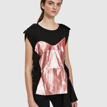 AALTO / Deconstructed Patchwork Top