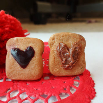 PB&J Valentines Day Inspired Friendship Rings