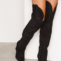 Thigh High Cowboy Boot, NLY Shoes