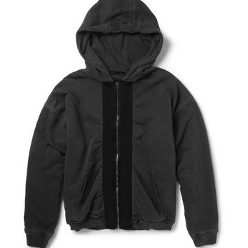 Haider Ackermann - Double-Layered Cotton-Jersey Hoodie | MR PORTER