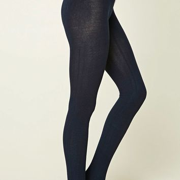 Ribbed Sweater Tights