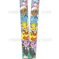 Pokemon Eeveelution Lanyard