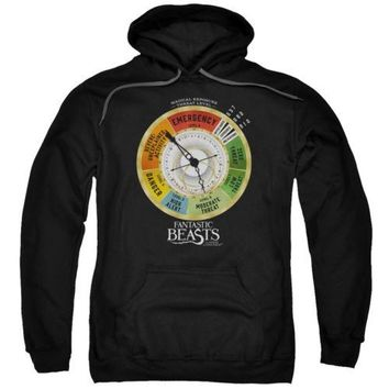 Fantastic Beasts Threat Gauge Licensed Adult Hoodie