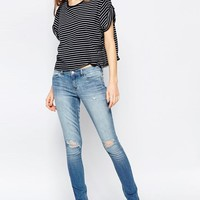 Ditto's | Ditto's Selena Skinny Jean in Lightly Destructed Antique at ASOS