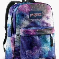 JanSport Classic SuperBreak Backpack, Swedish Blue/Pink Tulip