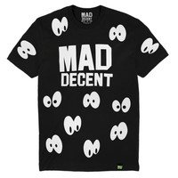 Mad Decent: Spooky Eyes Shirt - Black