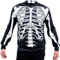 Zipperhead Skeleton Hoodie Adult Costume Skeleton Costumes By: PMG for the 2015 Costume season.