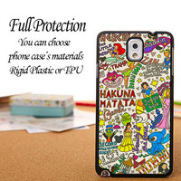 iPhone, Galaxy, and Xperia Collage Art Disney Case iPhone 6 / 5c / 5/5s / 4/4s, Galaxy S6, S5, S4, S3, Xperia Z,Z1,Z2 cases