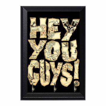 Hey You Guys Decorative Wall Plaque Key Holder Hanger