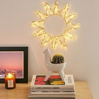 Celestial Sun Light Sculpture | Urban Outfitters