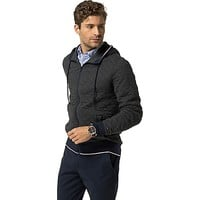 Quilted Fleece Hoodie | Tommy Hilfiger USA