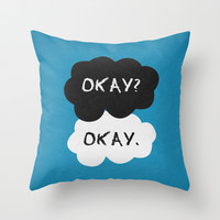 The Fault in Our Stars Poster 01 Throw Pillow by Misery | Society6