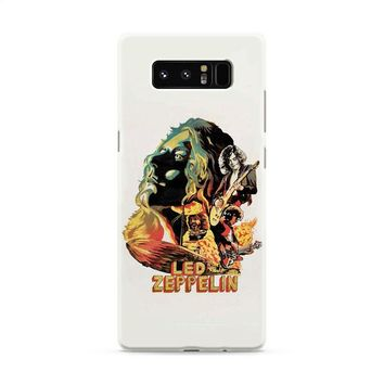 Led Zeppelin The Best Band Samsung Galaxy Note 8 Case
