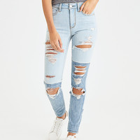 AEO Denim X Hi-Rise Jegging, Crystal Ice